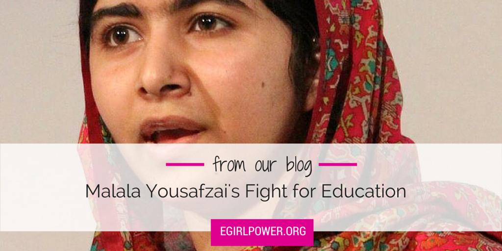 Surviving Team Meetings >> Malala Yousafzai's Fight for Education   egirlpower.org