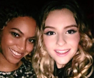 Sophie Beem with Beyonce